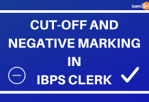 Cut-Off and Negative Marking in IBPS CLERK