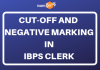 Cut-Off & NEgative Marking