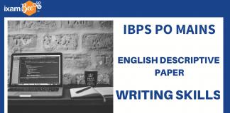 IBPS PO DESCRIPTIVE PAPER