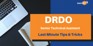 DRDO Senior Technical Assistant Last Minute Tips