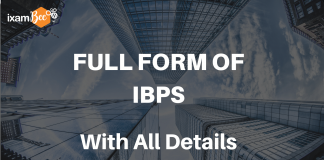 Full Form of IBPS with All details