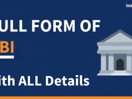 Full Form of RBI