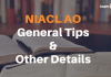 NIACL AO General Tips & Other Details