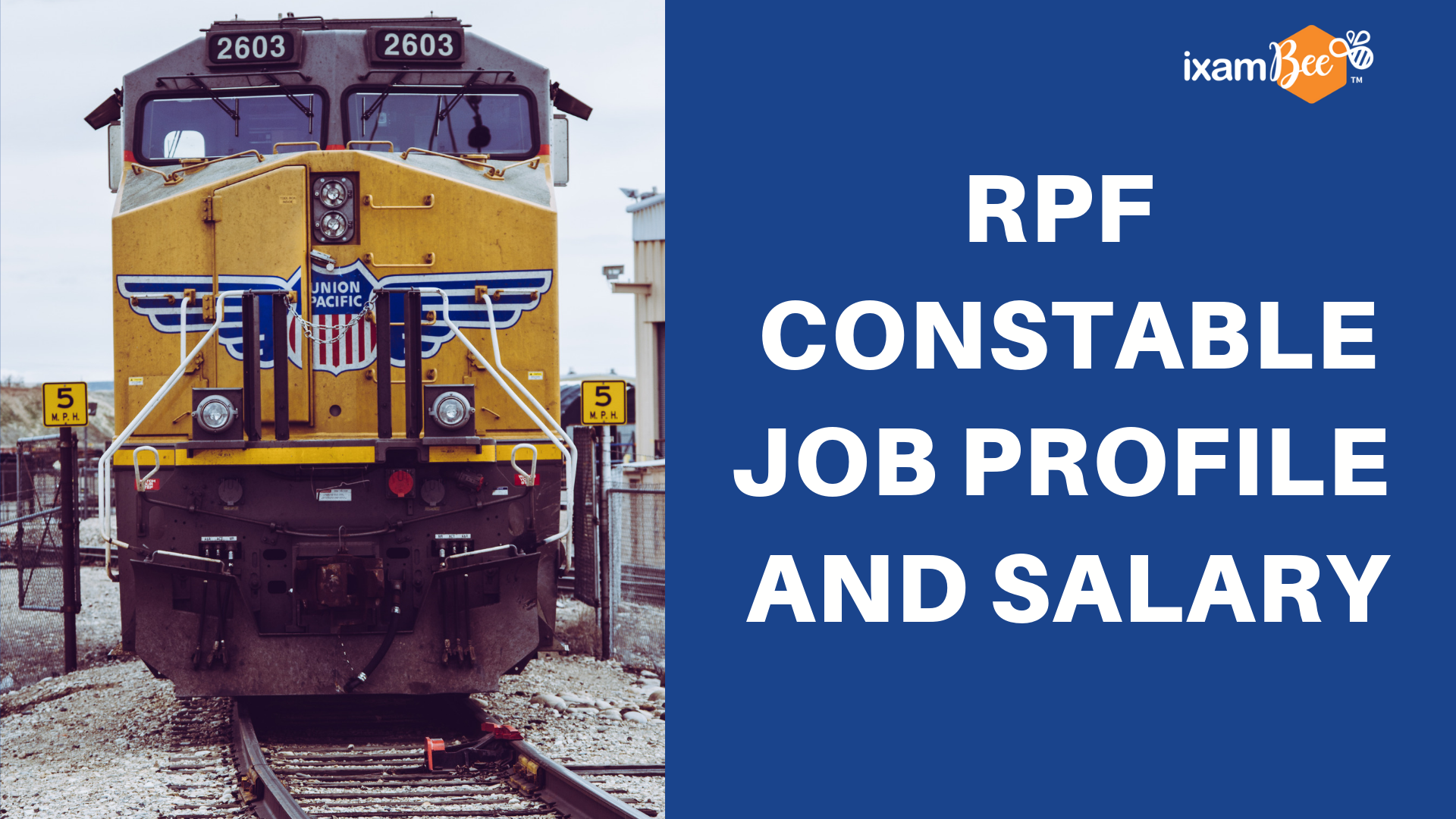 RPF CONSTABLE SALARY & JOB PROFILE - ixambee-blog