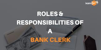 Roles & Responsibilities of a Bank Clerk