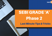 SEBI Phase 2 Last Minute Tips & Tricks
