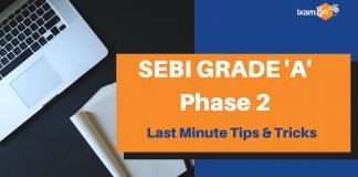 SEBI Phase 2 Last Minute Tips & Tricks