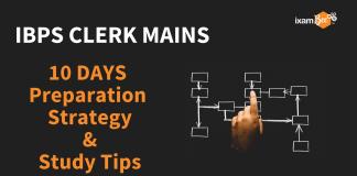 IBPS Clerk Mains Preparation Strategy