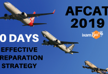 AFCAT 2019 30 Days Preparation Strategy