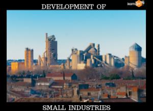 SIDBI- Development of Small Industries