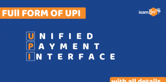 Full Form of UPI with all details