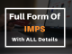 Full Form of IMPS with all other details