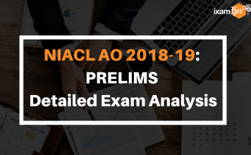 NIACL AO 2018-19 Prelims Detailed Exam Analysis