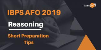 IBPS AFO Reasoning: Short Preparation Tips