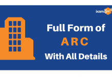 Full Form of ARC with all details