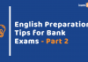 English Language Preparation: Bank Exams