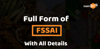 Full Form of FSSAI with all details