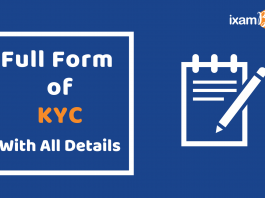 KYC Full Form with all details