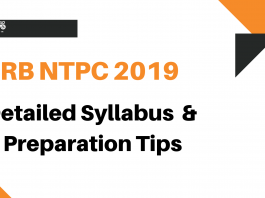 RRB NTPC Syllabus and Preparation