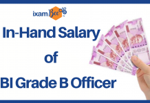 In-Hand Salary of an RBI Grade B Officer