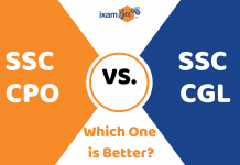 SSC CPO or SSC CHSL? Which one is better?