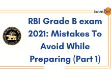 RBI Grade B 13 Mistakes to Avoid