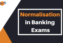 Normalisation of Score in Banking Exams