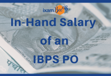 In-Hand Salary of an IBPS PO