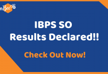 IBPS SO Results Declared