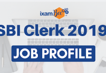 Job Profile of SBI Clerk
