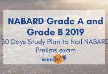 NABARD Grade A 2019