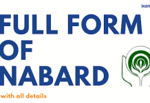 Nabard Full Form