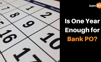One Year for Bank PO Preparation
