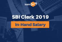 SBI Clerk In-Hand Salary
