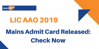 LIC AAO Mains Admit Cards Released