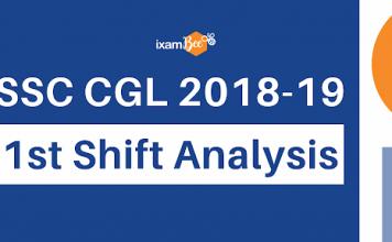SSC CGL First Shift Analysis