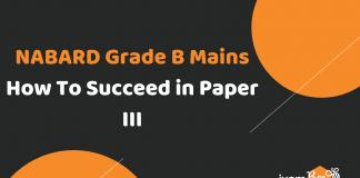 NABARD Grade B Mains Paper III