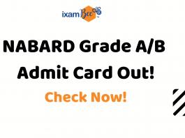 NABARD Grade A/B Phase 2 Admit Card