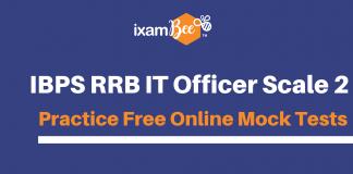 RRB IT Officer Free Mock Tests