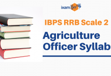 RRB Scale 2 Agriculture Officer Syllabus