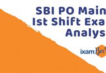 SBI PO Mains Ist Shift Analysis