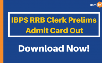 IBPS RRB Clerk Admit Card Released