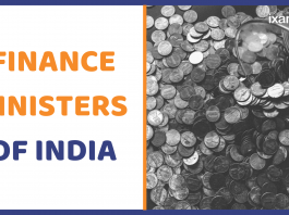 Finance Ministers of India