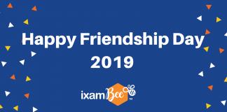 Happy Friendship Day 2019