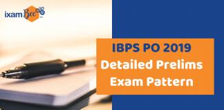 IBPS PO Pre Exam Pattern