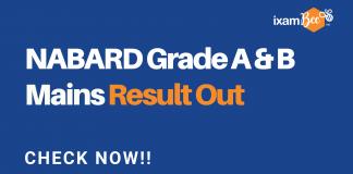Nabard Grade A & B Mains Result