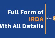 IRDA Full Form