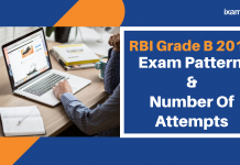 RBI Grade B chnages in Exam Pattern