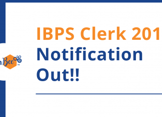 ibps clerk notification released