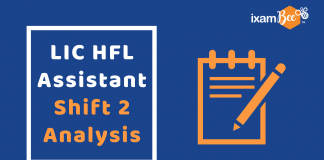 LIC HFL Assistant Exam Analysis
